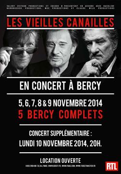 Les vieilles canailles- Paris Bercy (2014)