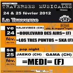 Traverses Musicales 2012