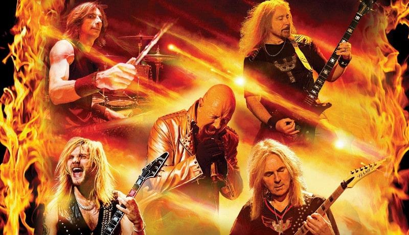 """Le groupe de heavy métal Judas Priest dévoile l'album """"Firepower"""""""