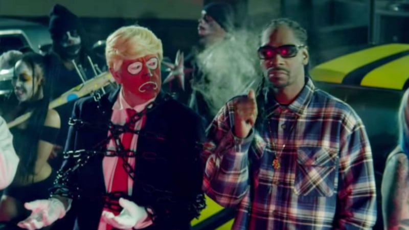 Snoop Dogg assassine Donald Trump