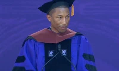 Pharrell Williams défend l'égalité hommes/femmes
