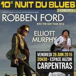 Programme 10ème Nuit Du Blues De Carpentras 5