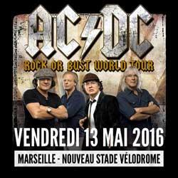 AC/DC en concert à Marseille le 13 mai 2016 5