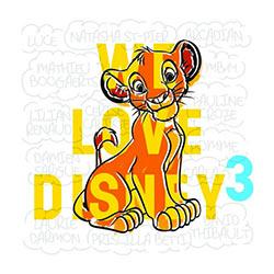 We Love Disney 3 5