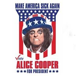 Alice Cooper se lance dans la présidentielle américaine 5
