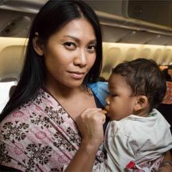 Anggun marraine de l'association Aviation Sans Frontières 5