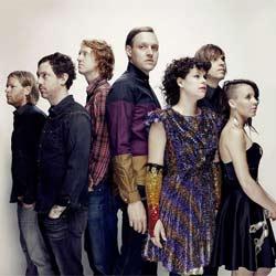 Arcade Fire en concert au Bilbao BBK Festival 6