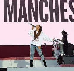 Ariana Grande de retour à Manchester après l'attentat 11