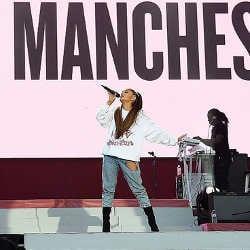 Ariana Grande de retour à Manchester après l'attentat 5