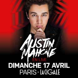 Austin Mahone à la Cigale le 17 avril 2016 6