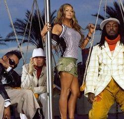 Les Black Eyed Peas présentent leur appli Smartphones 9