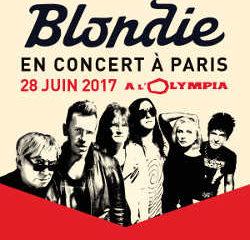 Blondie en concert à l'Olympia le 28 juin 2017 8