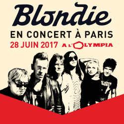 Blondie en concert à l'Olympia le 28 juin 2017 5