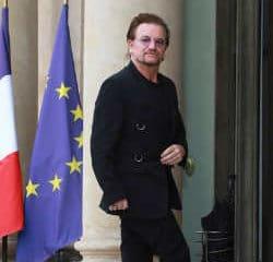 Le chanteur de U2 reçu par Emmanuel Macron 7