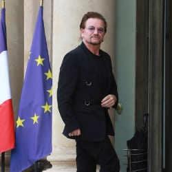 Le chanteur de U2 reçu par Emmanuel Macron 6