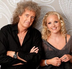 Brian May et Kerry Ellis en concert à Paris 7