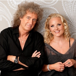 Brian May et Kerry Ellis en concert à Paris 6