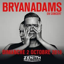 Bryan Adams au Zénith de Paris en octobre 2016 5