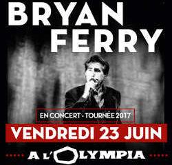 Bryan Ferry en concert à l'Olympia le 23 juin 2017 9
