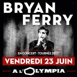 Bryan Ferry en concert à l'Olympia le 23 juin 2017 5