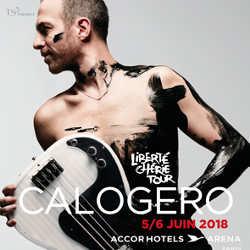Calogero lance son Liberté Chérie Tour 6