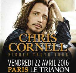 Chris Cornell en concert le 22 avril 2016 à Paris 14