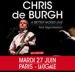Chris de Burgh en concert à La Cigale le 27 juin 2017 5