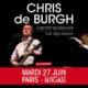 Chris de Burgh en concert à La Cigale le 27 juin 2017 6