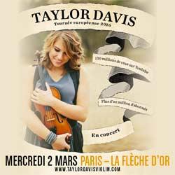 Taylor Davis pour la première fois en France 7