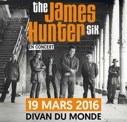 The James Hunter Six en concert à Paris le 19 mars 2016 10