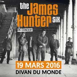 The James Hunter Six en concert à Paris le 19 mars 2016 5