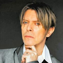 David Bowie dans une pub pour la marque Sony 5