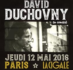 David Duchovny en concert à La Cigale 20