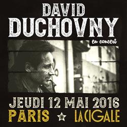 David Duchovny en concert à La Cigale 6