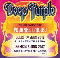 Deep Purple en concert à Lille et Paris en 2017 5
