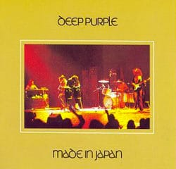 Cover album Made in Japan de Deep Purple