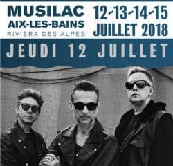 Depeche Mode en ouverture du festival Musilac 2018 5