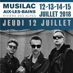 Depeche Mode en ouverture du festival Musilac 2018 6
