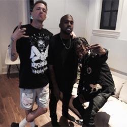 Kanye West snobé par le chanteur de Die Antwoord 5