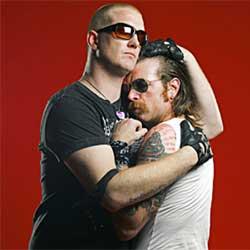 Les Eagles Of Death Metal le 16 février 2016 à l'Olympia 5