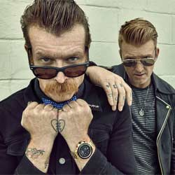 Les Eagles Of Death Metal à Bercy ce lundi 7
