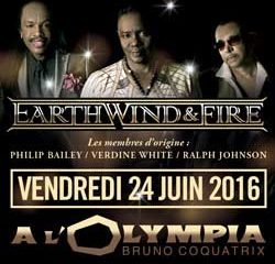 Earth, Wind And Fire à l'Olympia le 24 juin 2016 5