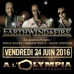 Earth, Wind And Fire à l'Olympia le 24 juin 2016 7