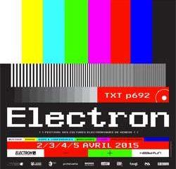 Programme Electron Festival 2015 7