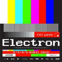 Programme Electron Festival 2015 6