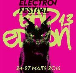 La crème de l'électro s'affiche au Festival Electron 9