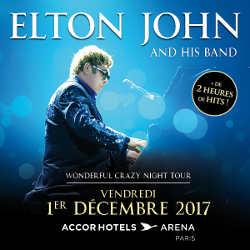 Elton John de retour dans l'hexagone en 2017 5