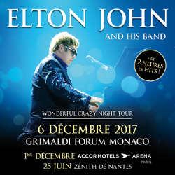 Elton John en concert à Monaco le 6 décembre 2017 5