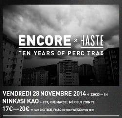 Le label PERC TRAX fête ses 10 ans à Lyon 9