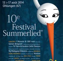 Découvrez le programme du Festival Summerlied 15